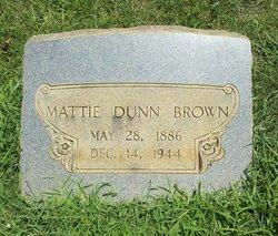 Martha <I>Dunn</I> Brown