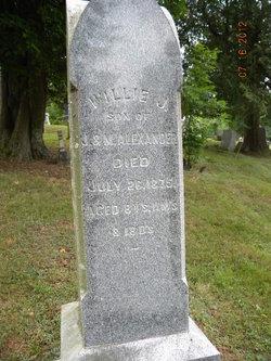 Willie J Alexander