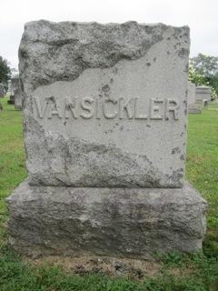 Mary Maylissa <I>Garrett</I> VanSickler