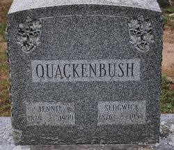 "Jane Eliza ""Jennie"" <I>Fonda</I> Quackenbush"