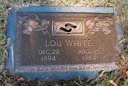"Lucinda ""Lou"" <I>Zugg</I> White"