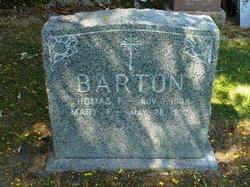 Mary F Barton