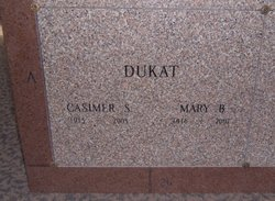 """Casimer S """"Casey"""" Dukat"""