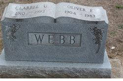 Clarbel Undine <I>Adkins</I> Webb