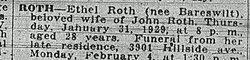 Ethel Roth