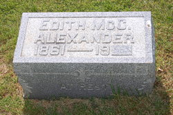 Edith <I>McCallister</I> Alexander