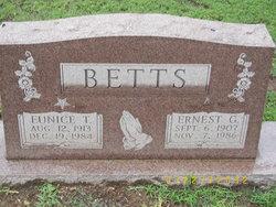 Ernest G. Betts