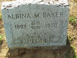 Albina M. <I>Juneau</I> Baker