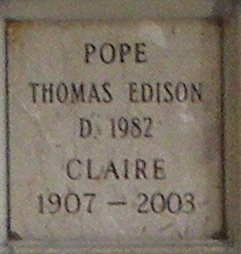Thomas Edison Pope