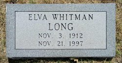 Elva <I>Whitman</I> Long