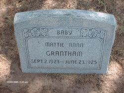 Mattie Anna Grantham