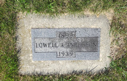 Lowell A Anderson