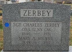 SGT Charles Adam Zerbey