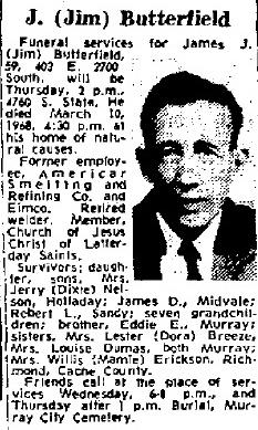 """James J. """"Jim"""" Butterfield"""
