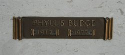Phyllis Mary <I>Couzens</I> Budge