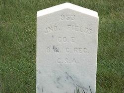 Pvt John Fields