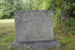 Bessie <I>Miller</I> Alexander
