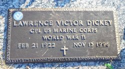 """Lawrence Victor """"Vic"""" Dickey"""
