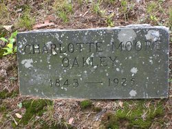 Charlotte F. <I>Moore</I> Oakley