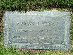Marion Josephine <I>Stevens</I> Berry