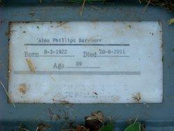 Alma <I>Phillips</I> Barrier