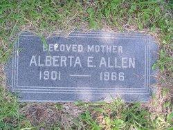 Alberta E Allen