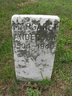 Margaret <I>Porter</I> Anderson