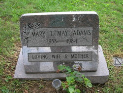 "Mary Teresa ""May"" <I>Urbas</I> Adams"