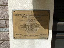 Resurrection Chapel Mausoleum