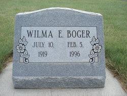Wilma Edith <I>McIntosh</I> Boger
