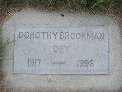 Dorothy <I>Dey</I> Brookman