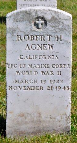 PFC Robert H Agnew