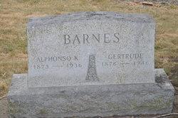 Gertrude <I>Ross</I> Barnes