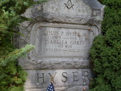 Louis P Hyser, Jr
