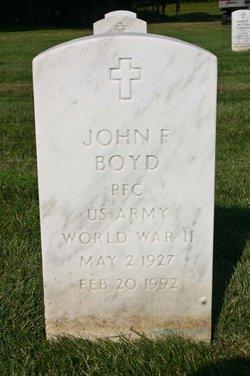 John F Boyd