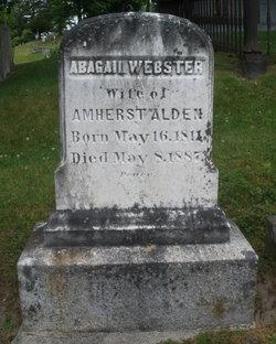 Abagail Ann <I>Webster</I> Alden