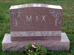 Gertrude L Mix