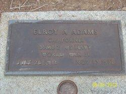 Elroy A Adams