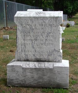 Sarah L. <I>Wilson</I> Hall