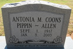 Antonia Mary <I>Coons</I> Allen