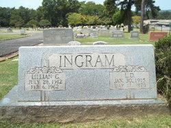 Lillian Gertrude <I>Williams</I> Ingram