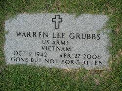 Warren Lee Grubbs