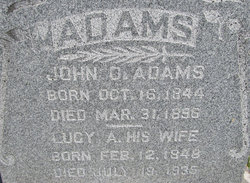 Lucy A. <I>Sportsman</I> Adams