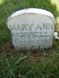 Mary Ann Morrell