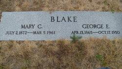 Mary C. <I>Fitzgerald</I> Blake