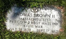 Thomas Brown, II