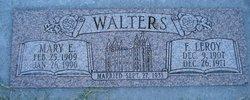 """Francis Leroy """"Pop"""" Walters"""