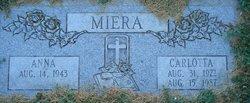 Carlotta <I>Montoya</I> Miera