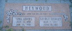 Vina Hilary <I>Adams</I> Heywood