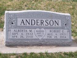 Alberta Marie <I>Koch</I> Anderson